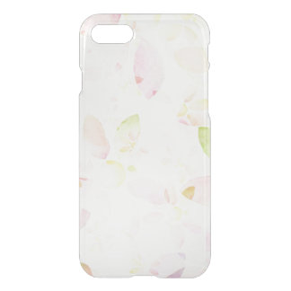 Designed watercolor flower background, texture iPhone 7 case