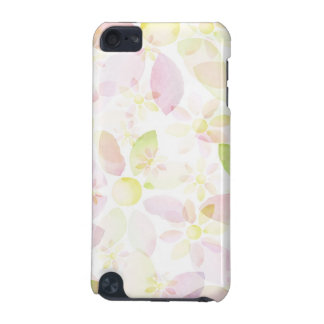 Designed watercolor flower background, texture iPod touch (5th generation) cases