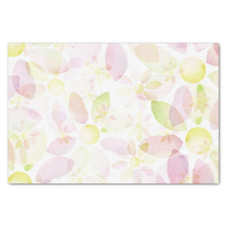 Designed watercolor flower background, texture tissue paper