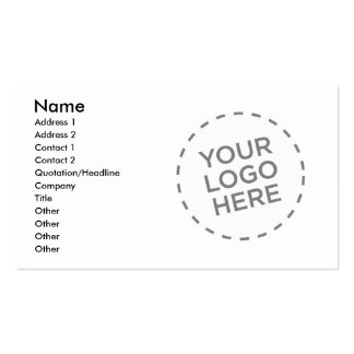 Designer Accountant Business Cards
