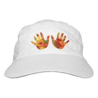 Designer and protective stylish hat. hat