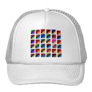 Designer baseball cap for the ladies mesh hats