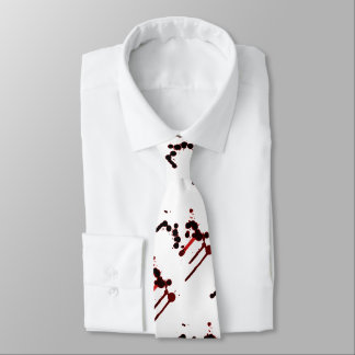 Designer Blood Splatter Tie
