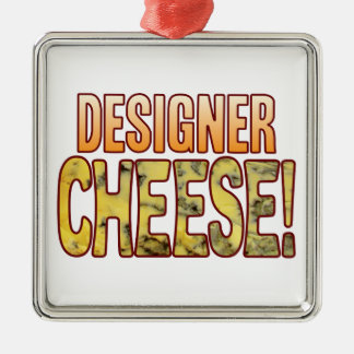 Designer Blue Cheese Christmas Ornament