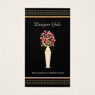 Designer Business Cards - Black & Gold