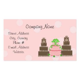 Designer Cakes Business Card Templates