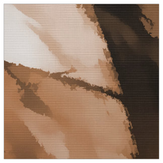 Designer Camo in Beige and Burnt Sienna Fabric