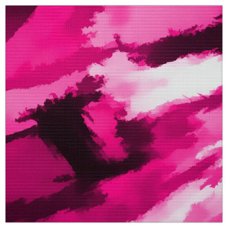 Designer Camo in Hot Pink Fabric