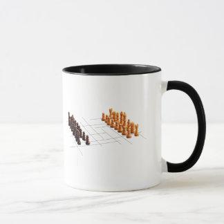 Designer chess mug
