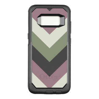 Designer Color Chevron Pattern OtterBox Commuter Samsung Galaxy S8 Case