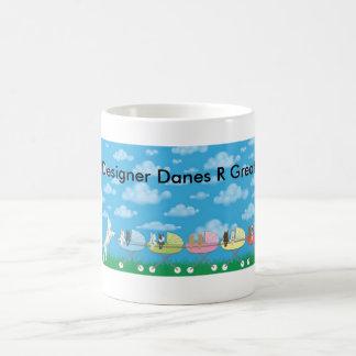 Designer Danes R Great! Basic White Mug