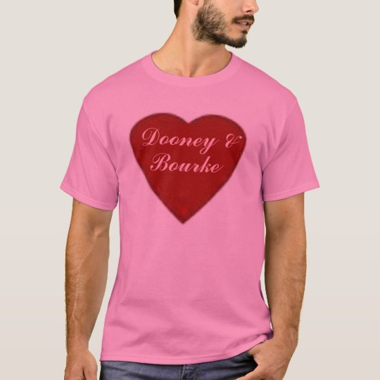 "Designer Dooney & Bourke ""Heart Of Love"" tee"
