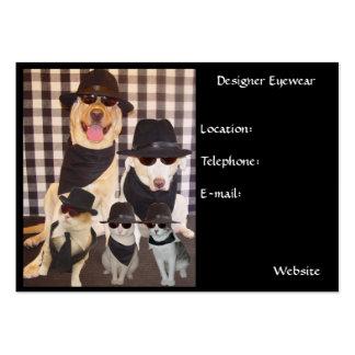 Designer Eyewear Business Card Template