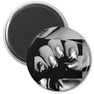 Designer Fingernails Magnet