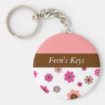 Designer Floral Keychain