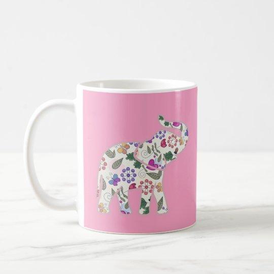 Designer Floral Nature Design Coffee Mug