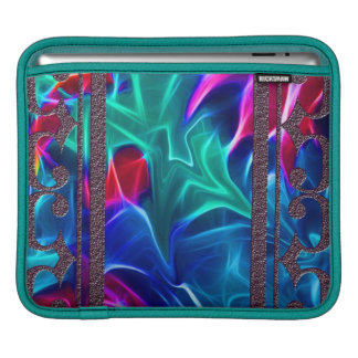 Designer Fractal Eye Candy iPad Sleeve