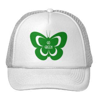 Designer Go Green baseball cap for the ladies Trucker Hat