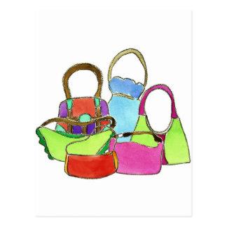 Designer Handbags Postcard