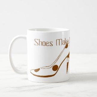Designer high Heels for Women who Love Shoes Basic White Mug