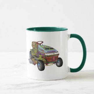 Designer Lawnmower Mug