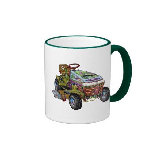 Designer Lawnmower Coffee Mug