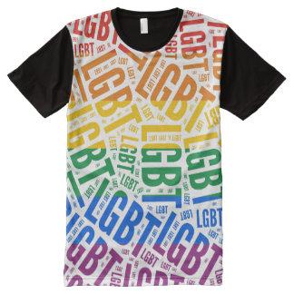 Designer LGBT Pride All-Over Print T-Shirt