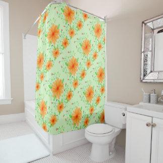 Designer Light Green Shower Curtain