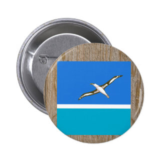 Designer Midway Islands Flag Box 6 Cm Round Badge