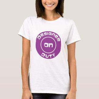 Designer On Duty T-Shirt