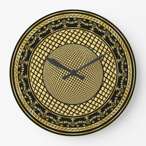 Designer One of a kind View notes please Round Wall Clock