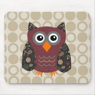Designer Owl Desarae Mouse Pad