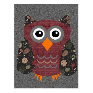 Designer Owl Desarae Postcard