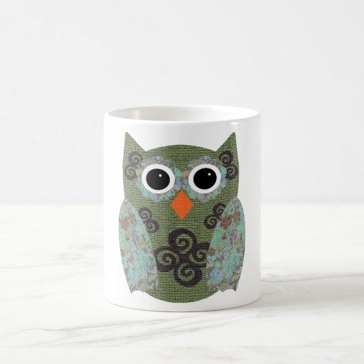 Designer Owl Rosie Mug