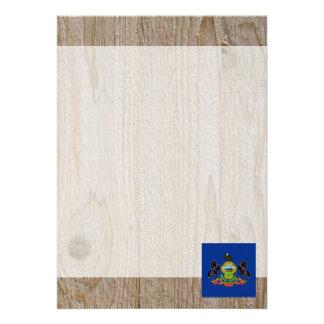 Designer Pennsylvania Flag Box 13 Cm X 18 Cm Invitation Card