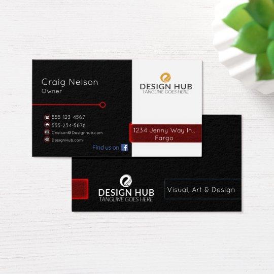 Designer professional business card zazzle designer professional business card reheart Image collections
