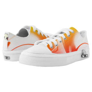 Designer shoes abstract design by Zayha Printed Shoes