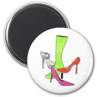 designer shoes FINAL 6 Cm Round Magnet