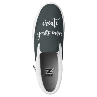 Designer Template Street-Cred Create Your Own Slip-On Shoes