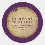Designer Vintage Grunge Sticker