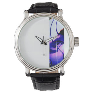 Designer watch abstract design by Zayha