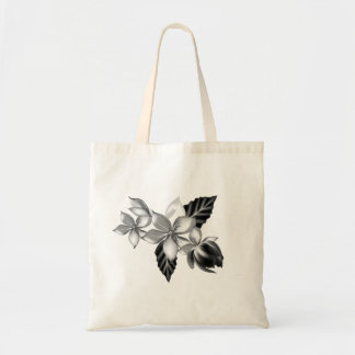 Designers bag with grey Flowers