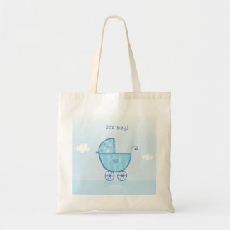 Designers bag with its a boy Sign