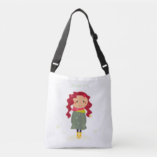 Designers bag with Little girl