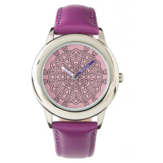 Designers elegant watches with Mandala
