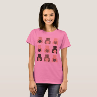 Designers girl tshirt with Sweet teddies
