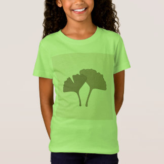 Designers kids tshirt with Gingko