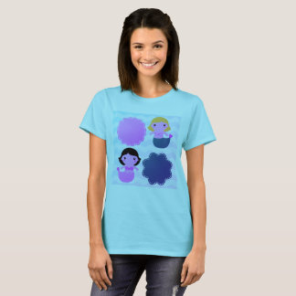 Designers ladies t-shirt with Mare girls