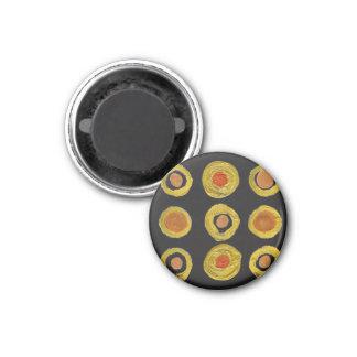 Designers magnet : black gold