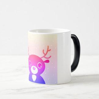 Designers morphing mug with Reindeer